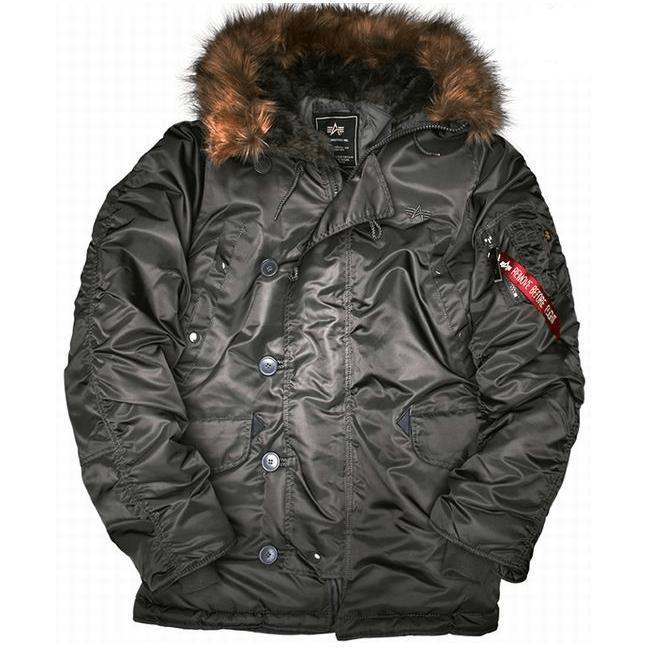 f8c966fa Куртка- аляска N3B Alpha Industries купить в Москве, цена в  интернет-магазине Легионер