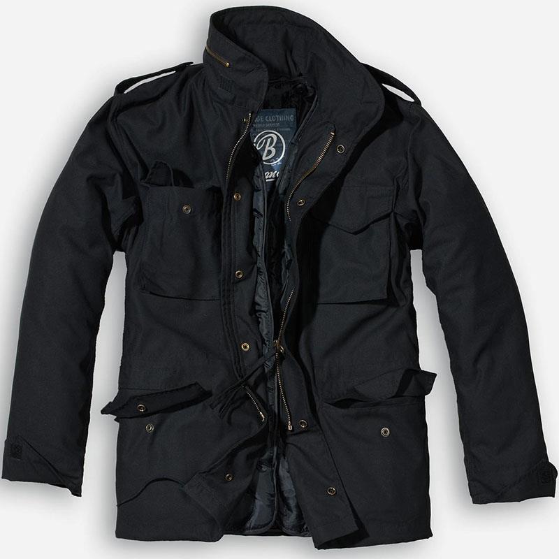 Куртка M65 Standard Brandit black купить в Москве недорого -  Интернет-магазин Легионер f85315b2836