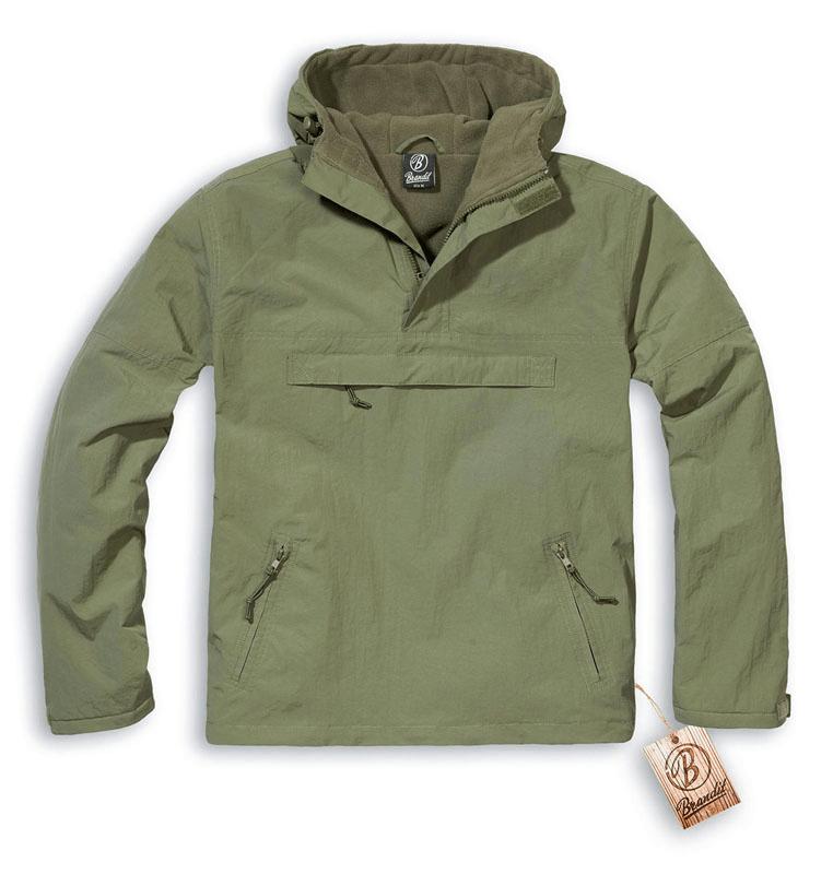 009c9c9e01e Куртка Windbreaker Brandit olive изображение 2 ...
