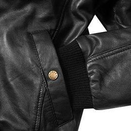 Куртка MA-1 D Tec Leather Alpha Industries изображение 5