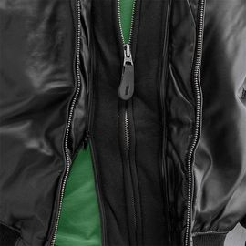 Куртка MA-1 D Tec Leather Alpha Industries изображение 2