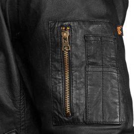Куртка MA-1 Light Weight Leather Alpha Industries изображение 2