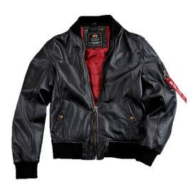 Куртка MA-1 VF Leather Alpha Industries изображение 1