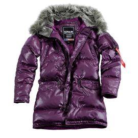 Куртка N3B Down Jacket Wmn Alpha Industries изображение 2