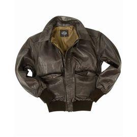 Куртка US LEDERJACKE FLIEGER A2 Mil-Tec изображение 2