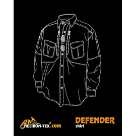 Рубашка DEFENDER 1/1 Helikon-Tex изображение 2