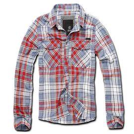 Рубашка Checkshirt Brandit изображение 6