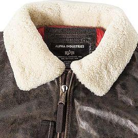 Куртка Injector III Leather Alpha Industries изображение 2