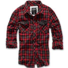 Рубашка Checkshirt Duncan Brandit изображение 2