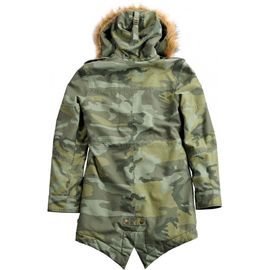 Куртка Hooded Fishtail III Wmn Alpha Industries изображение 2