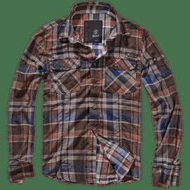 Рубашка Checkshirt Cotton Crashed Brandit изображение 1