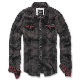 Рубашка Checkshirt Duncan Brandit изображение 1