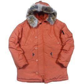 Куртка N3B Oxford Nord Storm APRICOT/ORANGE изображение 1