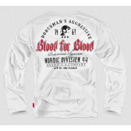 Лонгслив BLOOD FOR BLOOD Dobermans Aggressive (Арт: LS32) изображение 1