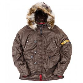 Аляска N3B Tight Husky II Nord Storm Brown/Red изображение 2