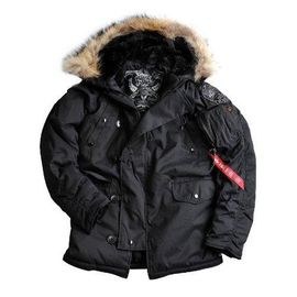 Куртка Explorer real fur Alpha Industries изображение 4