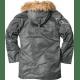 Куртка- аляска N3B Alpha Industries изображение 3